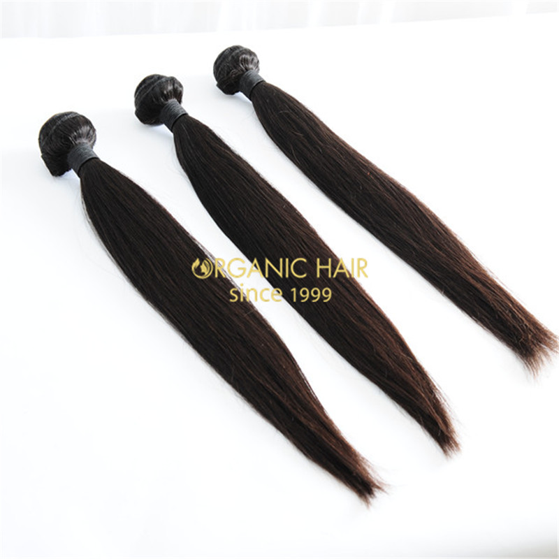 New arrival natural black virgin brazilian hair extensions