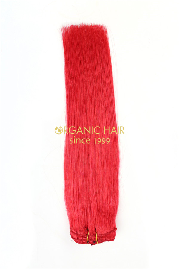 Real human hair extensions remy clip human hair