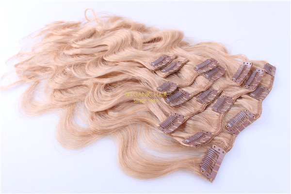Factory wholesale clip in hair extensions miami