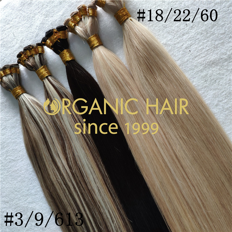 Natural beaded rows hair extensions supplier RB95
