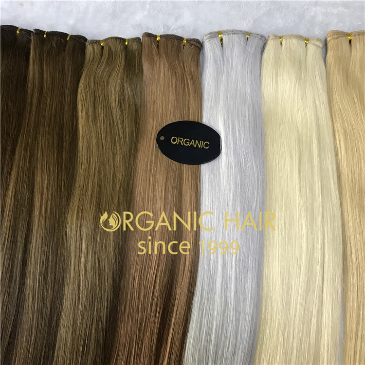 Custom order hand tied hair extensions H163