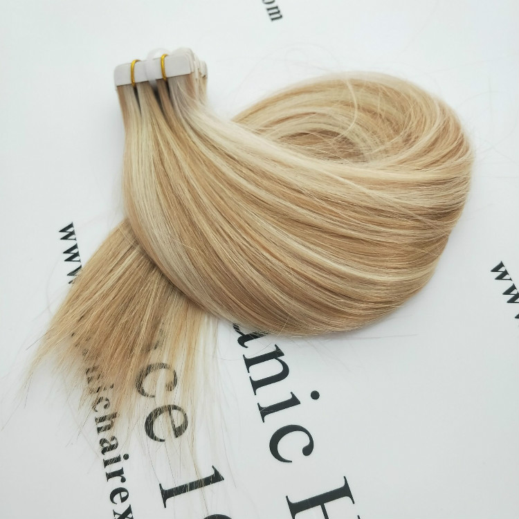 Glam tape hair extensions from factory sale directly GT42