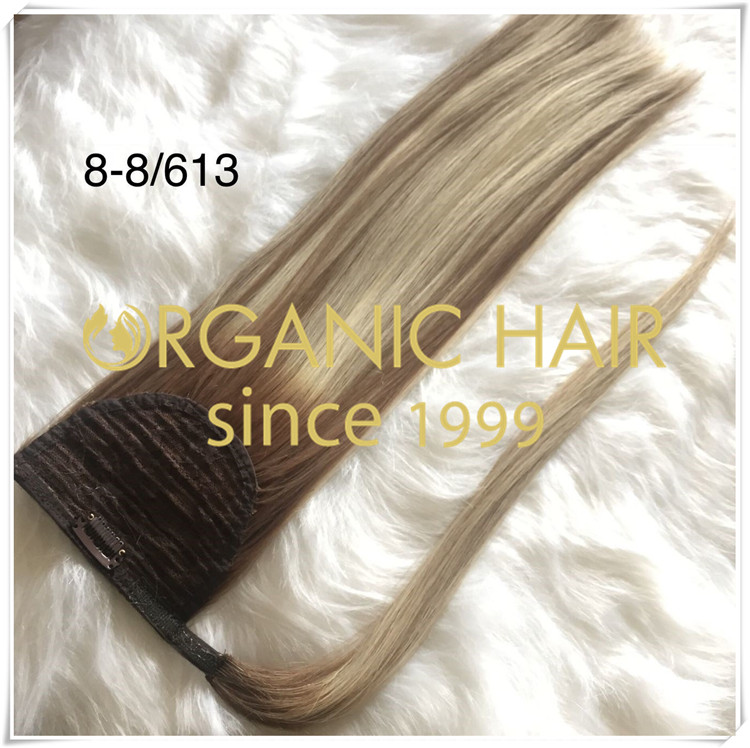 Clip in ponytail extensions hot sale CNY039