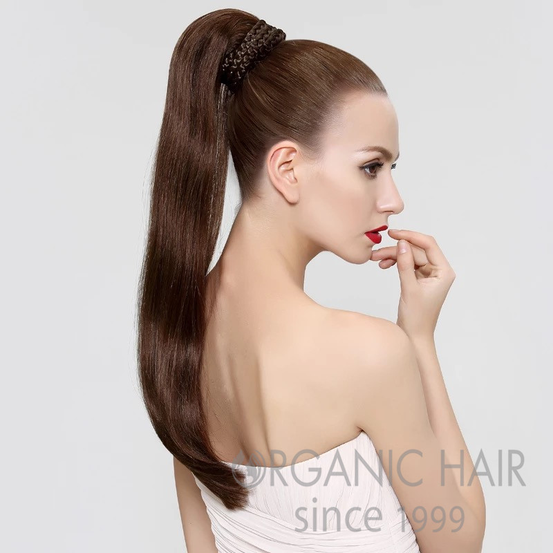 Remy hair human hair ponytail extensions