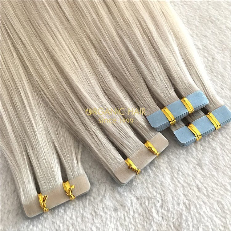 Customzied pop color in winter-whloesale tape in hair extensions A168
