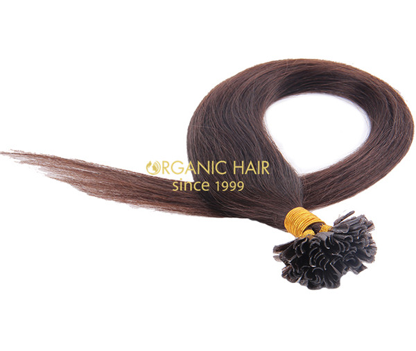 Best human hair pre bonded hair extensions glue #2