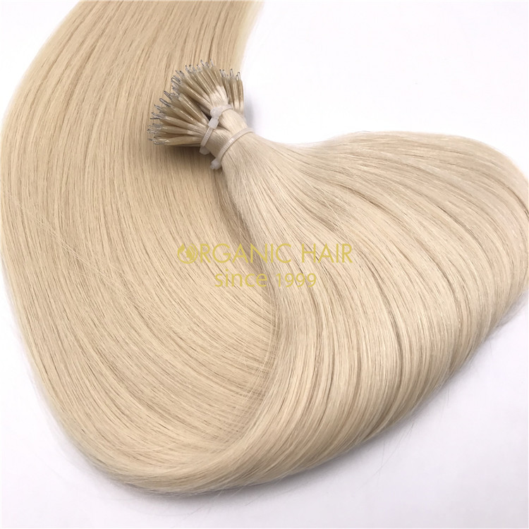 Wholesale high quality pre-bonded hair extensions RB89