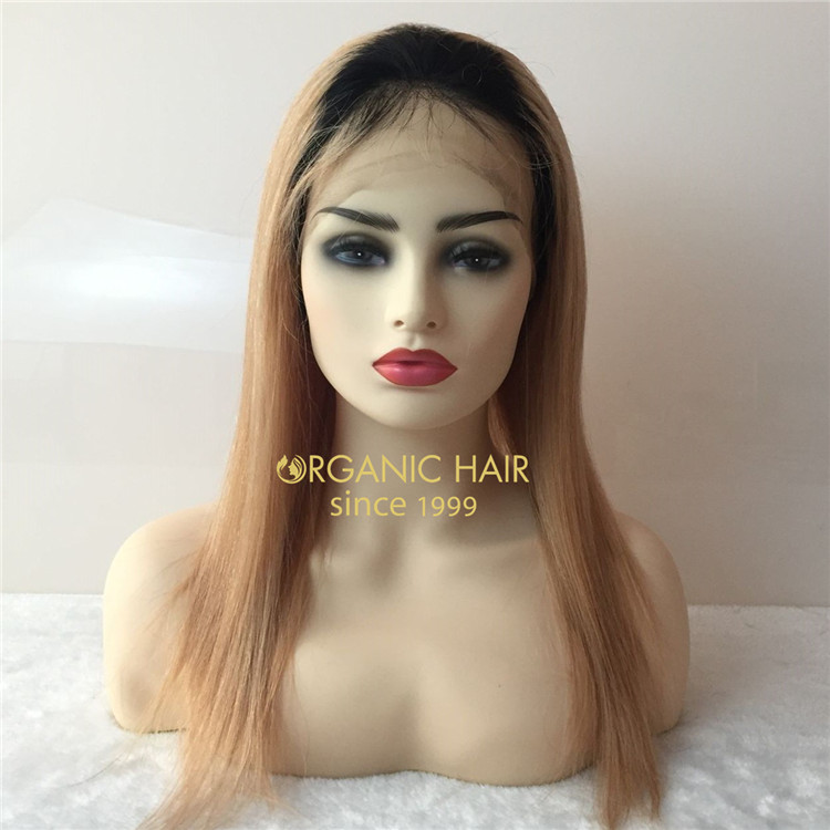 130 density,1b/27 full lace wig with wholesale price and high quality A107