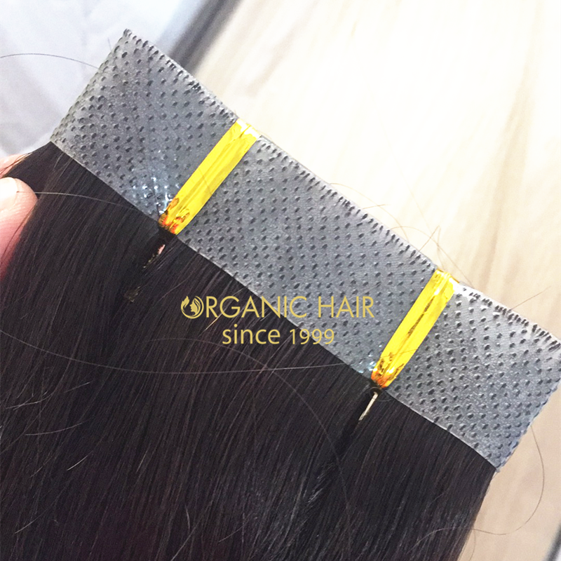 brazilian hair pu skin weft hair extensions uk