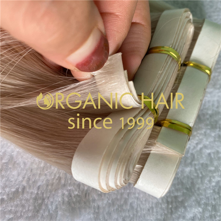 Organic PU skin weft extensions  H212