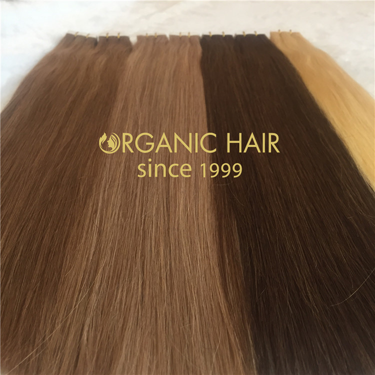 Hair extensions to order--High quality tape in hair extensions C12