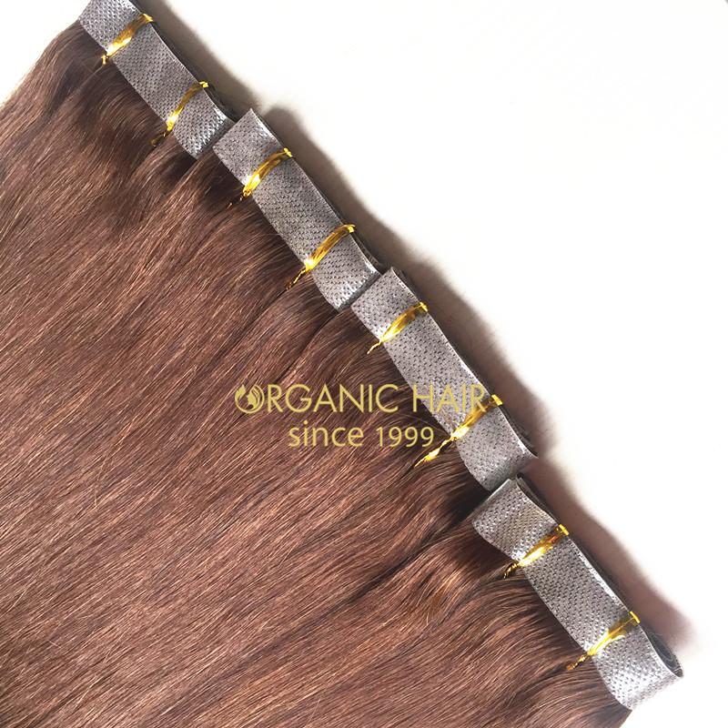 Factory wholesale seamless skin weft hair extensions