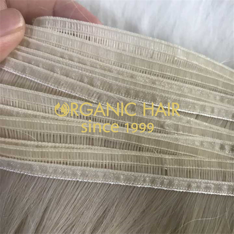 Supply tape in , falt weft, all hair extensions  H199