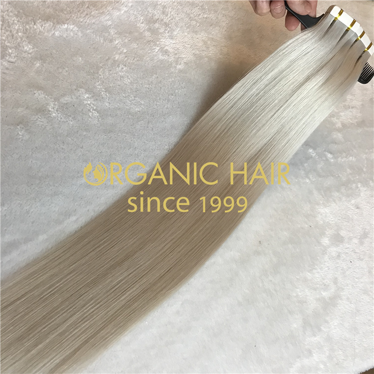 No tangle no shedding tape in hair extensions wholesale V21