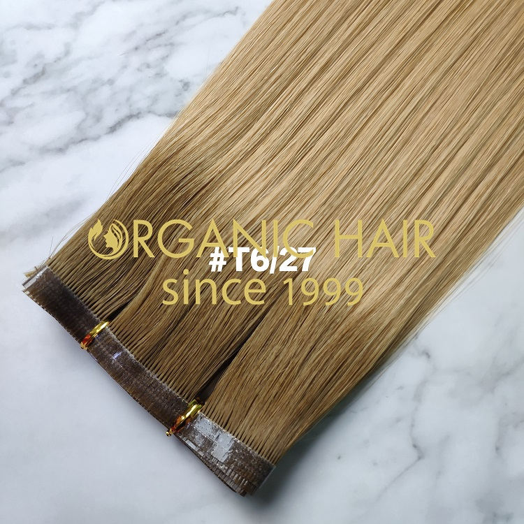 Top quality cuticle seamless wefts supplier  RB16