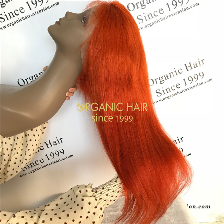 The hot sexy cheap color full lace wigs X51