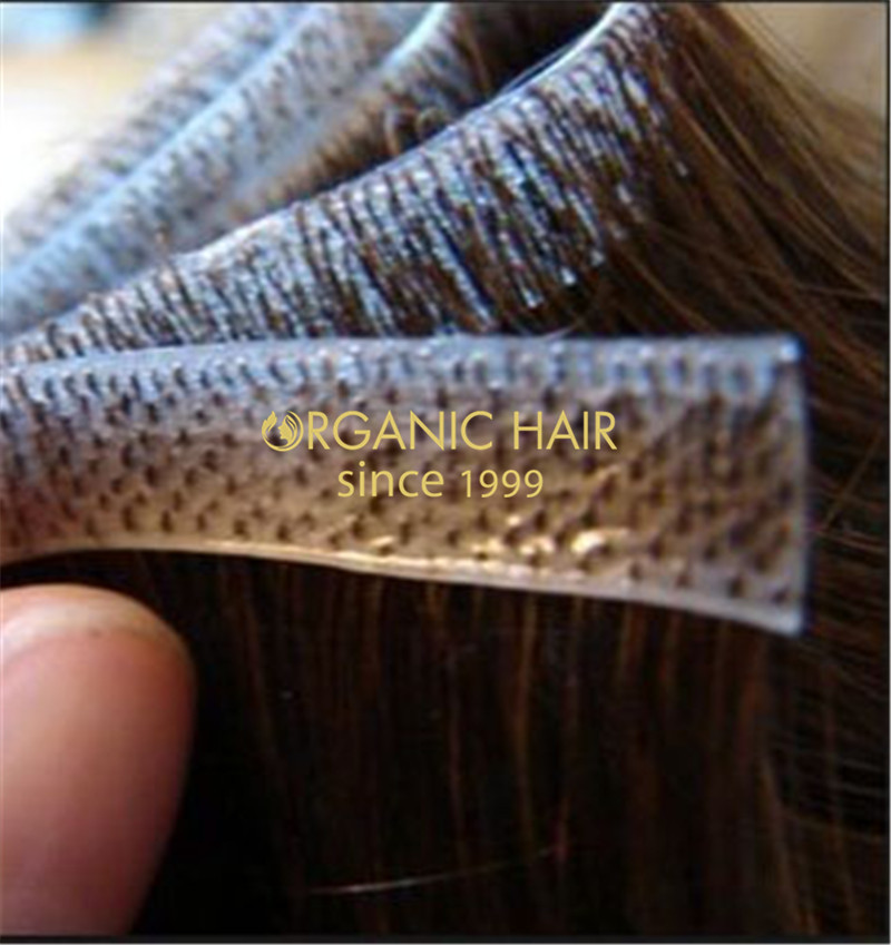 Russian Hair Extensions Skin Weft Hair Extensions China Oem