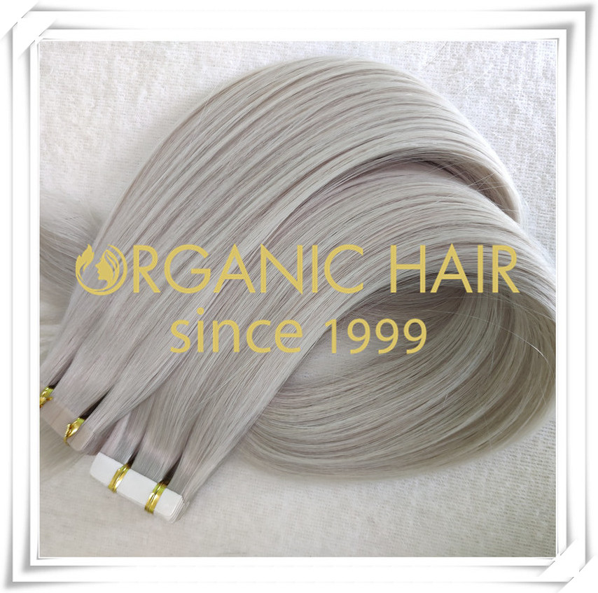 Stock #60A tape in hair extensions C059