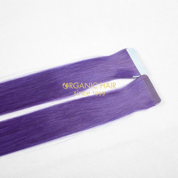 Remy natural hair extensions tape hair in Australia
