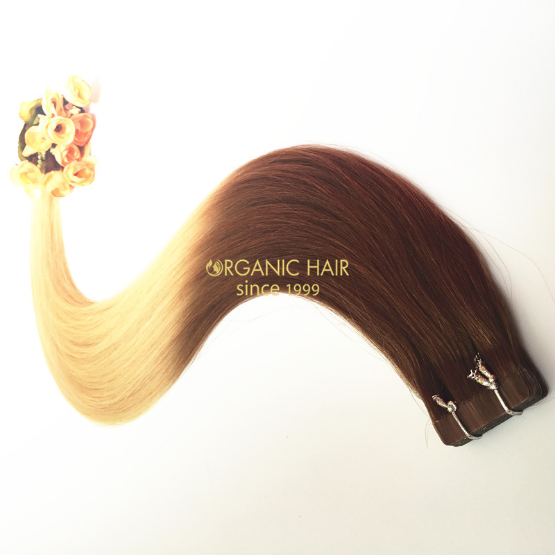 Peruvian tape in hair extensions