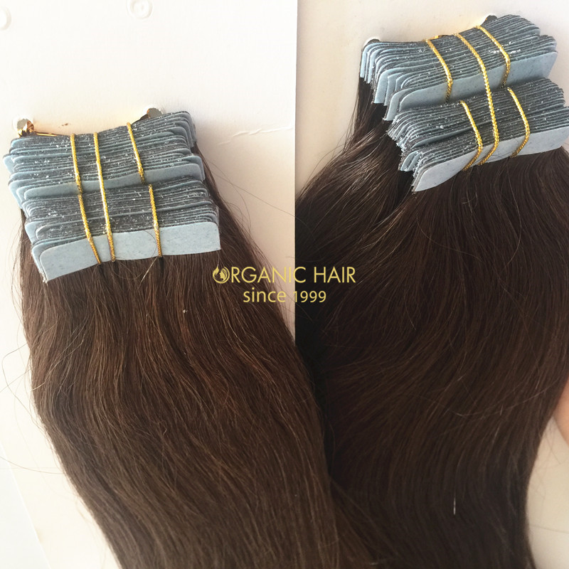 Wholesale Virgin Russian Tape In Hair Extensions China Oem