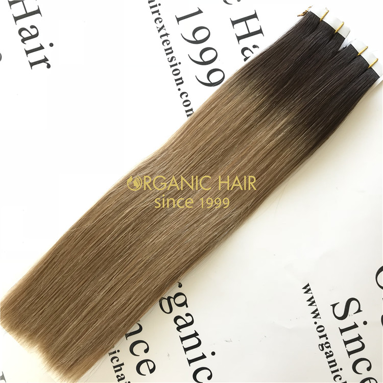 Tape in hair extensions and long lasting X102