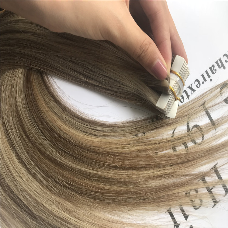 The most popular tape in hair extensions H15