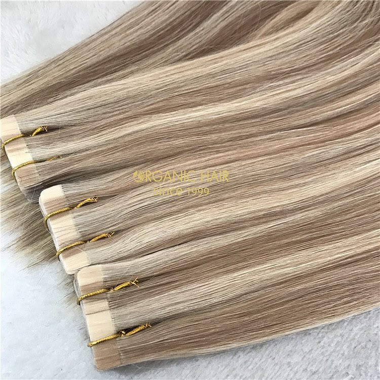 100% remy human hair with best quality tape in hair wholesale A211