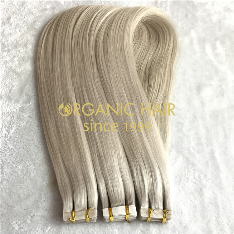 Quick applying tape in hair extensions wholesale V81
