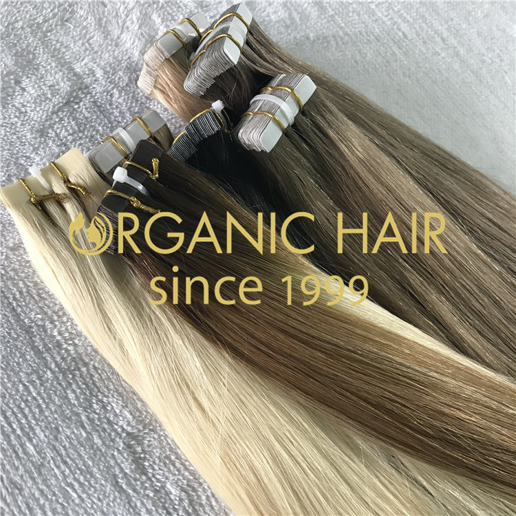 TAPE IN HAIR EXTENSIONS--Ombre H237