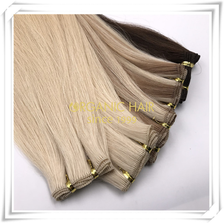 Test our hand tied weft with sample order C068