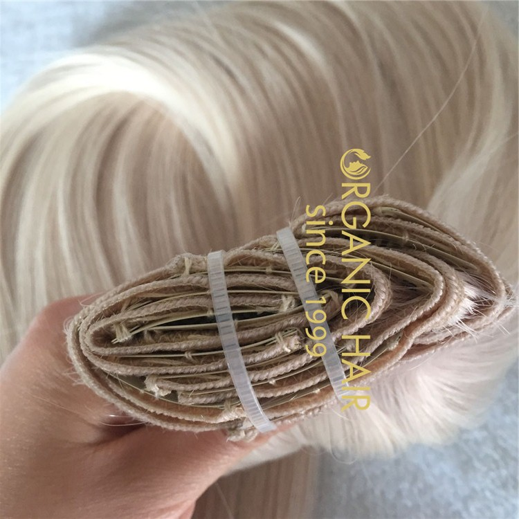 Amazing color clip in hair extensions C34