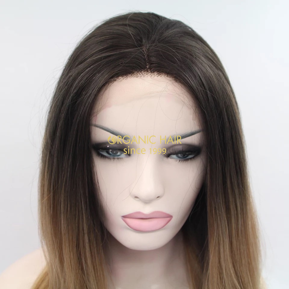 Large stock wholesale price synthetic lace wigs