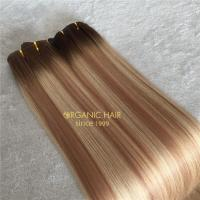 Our cheapest hair extensions-machine weft  A165