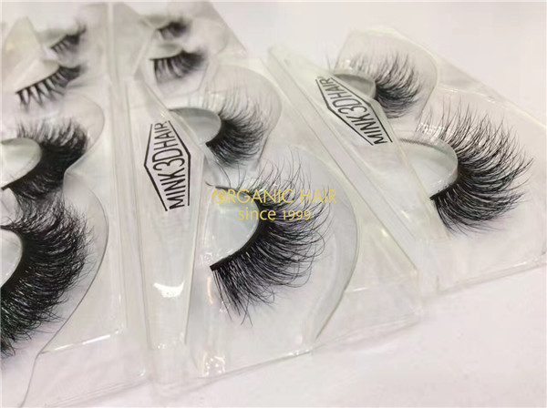 China eyelashes factory thick 3D Mink Eyelashes Suppliers