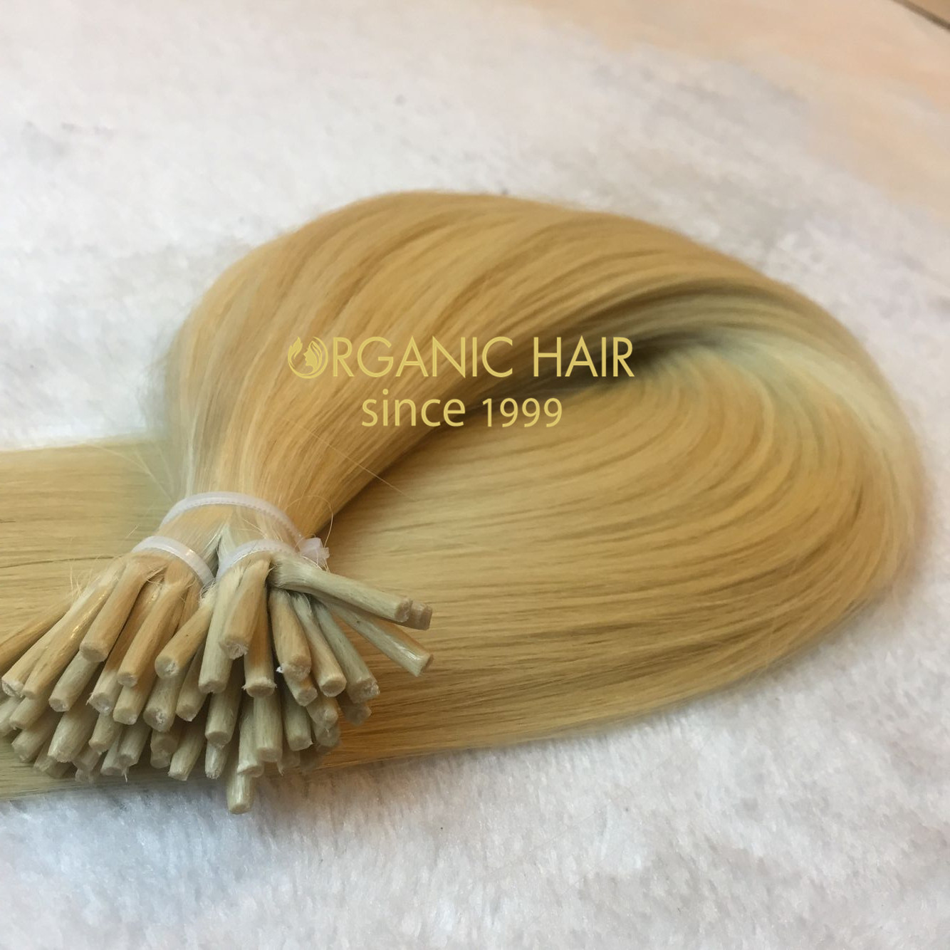 Top quality I tip hair extensions--2g/strand,color 613 & color18/613   C31