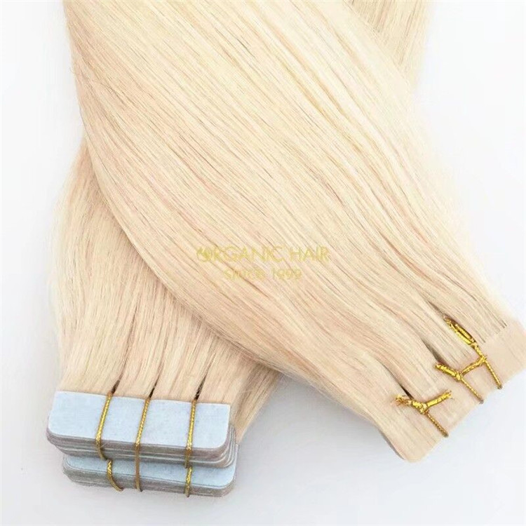 Cheap wholesale price remy human tape in hair extensions A137