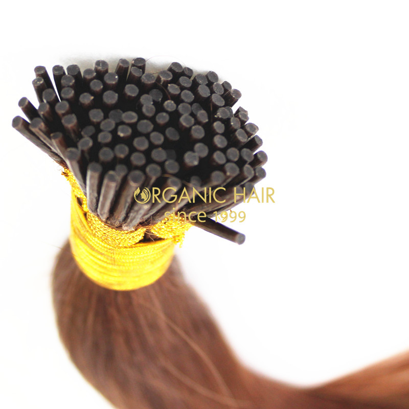 Premium Remy Human Hair Pre Bonded Hair Extensions China Oem