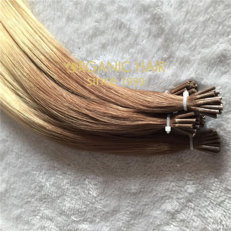 Top quality I tip hair extensions C44