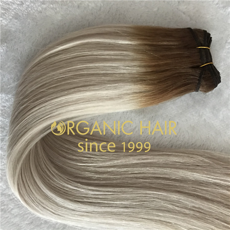 ASH TONES Machine hair weft is Available H107