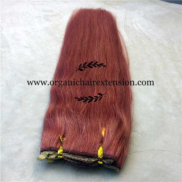 Wet and wavy weave weft hair extensions canada