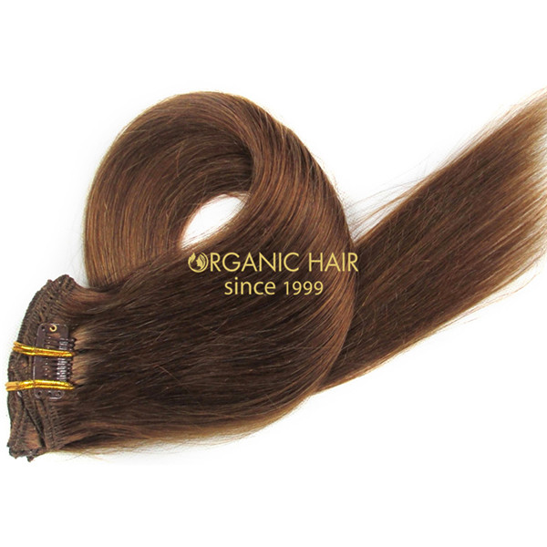 Where to buy clip in hair extensions human hair #8