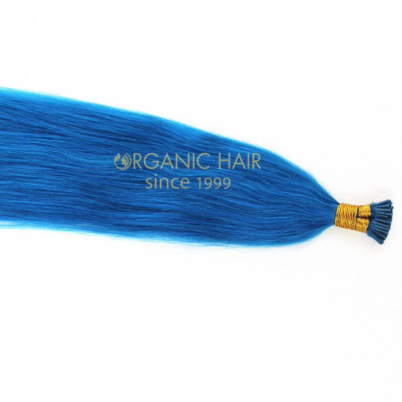 Types of human hair temporary hair extensions