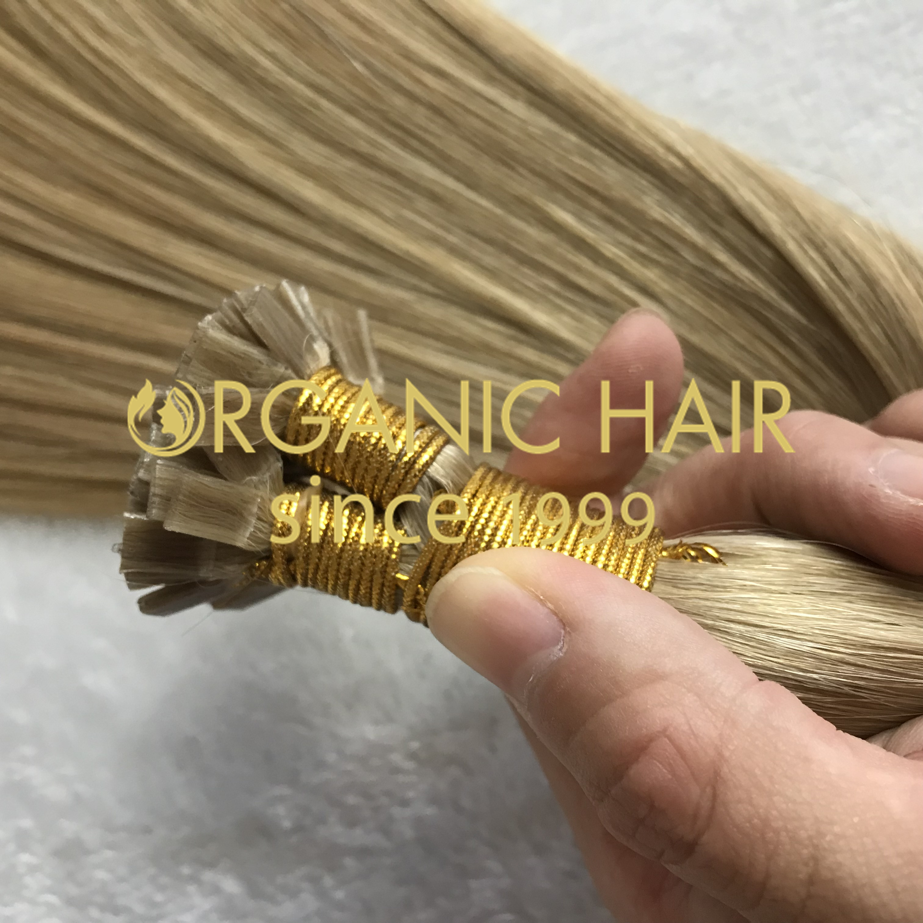 Top quality hair extensions to order-- Flat tip hair extensions C29