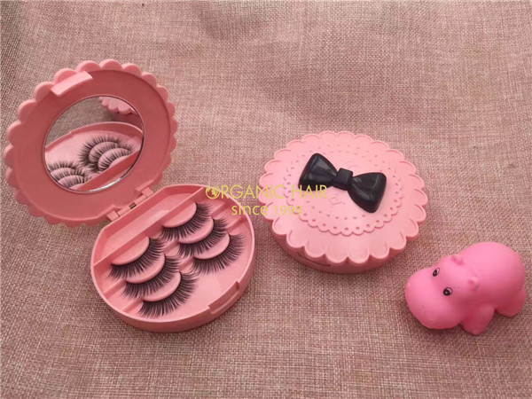 wholesale 100% Real Mink Fur 3D Mink Lashes