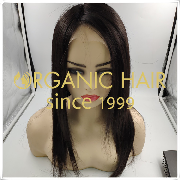 Wholesale best Natural Black full lace wig C091