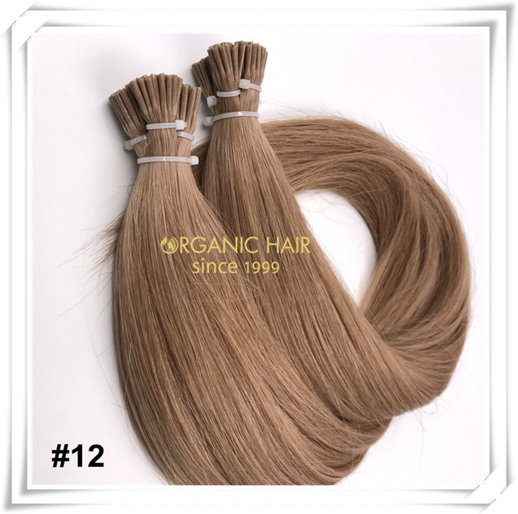 Wholesale I tip hair extensions C077