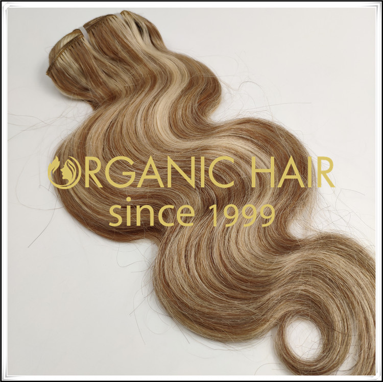 Why many clients choose clip in hair extensions C073