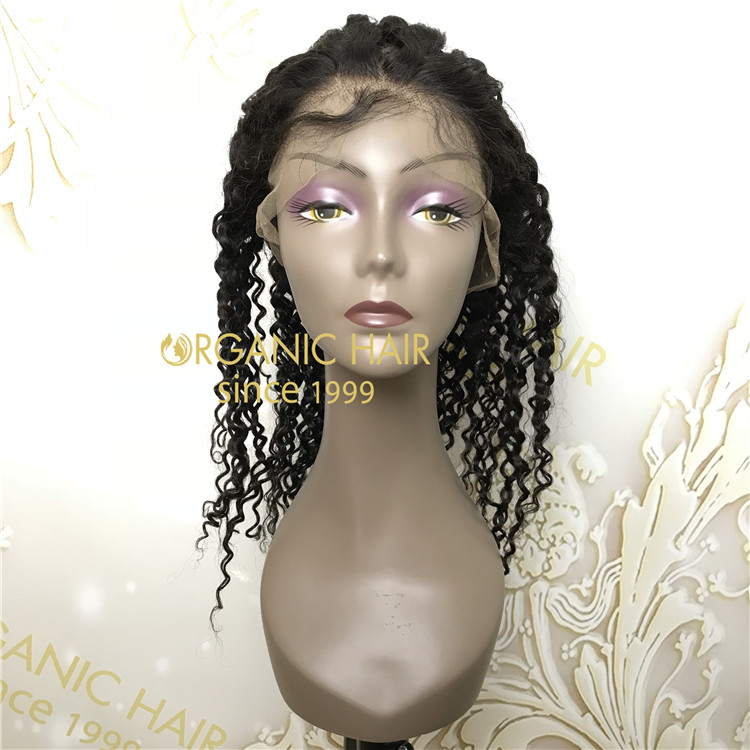 18 Inch 130 Density 100 Remy Human Full Lace Wig With