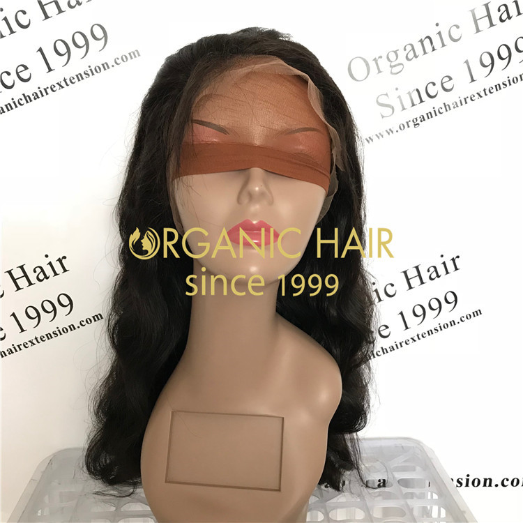 Free part natural full lace wigs human hair wholesale price in Chinese factory A47